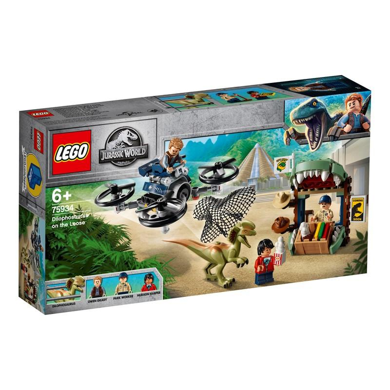 75934 Dilophosaurus on the Loose - LEGO® Bricks World