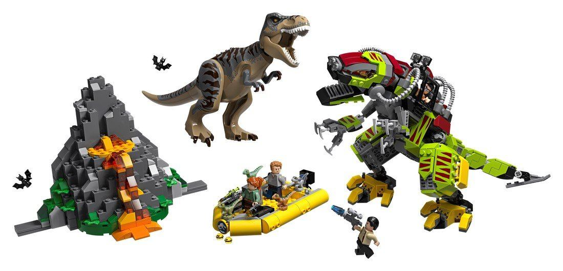 75938 T. rex vs Dino-Mech Battle - LEGO® Bricks World
