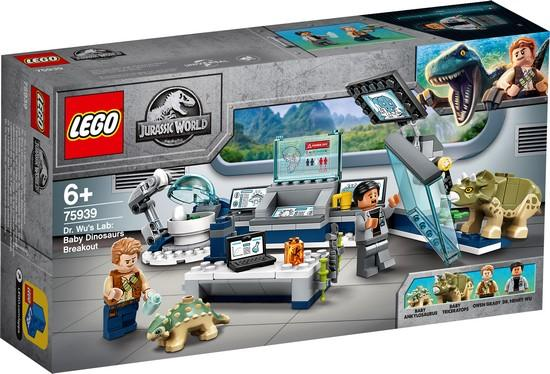 LEGO® Jurassic World™ - 75939 Dr. Wu's Lab: Baby Dinosaurs Breakout?