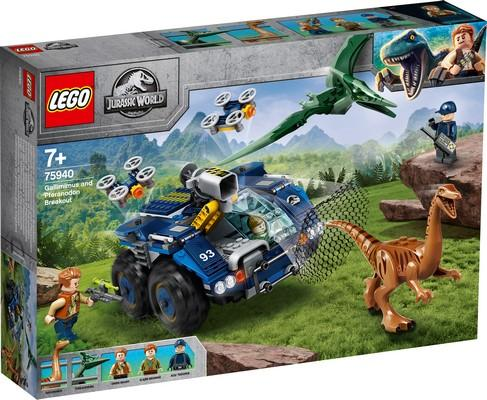 LEGO® Jurassic World™ - 75940 Gallimimus And Pteranodon Breakout