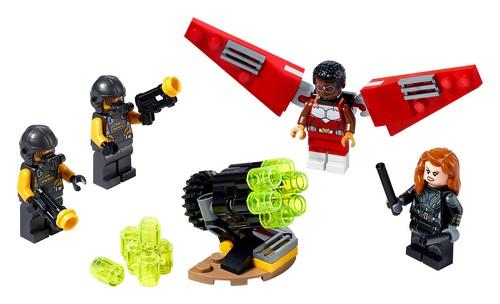 LEGO® Marvel Super Heroes - 40418 Falcon & Black Widow Team Up