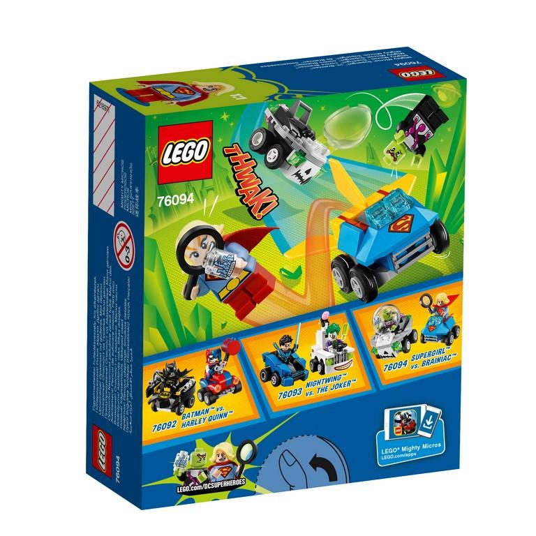 LEGO® Marvel Super Heroes - 76094 Mighty Micros: Supergirl™ Vs. Brainiac™