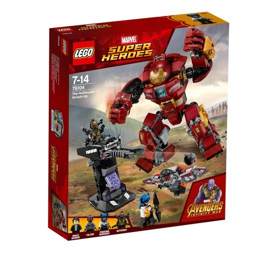 LEGO® Marvel Super Heroes - 76104 The Hulkbuster Smash-Up