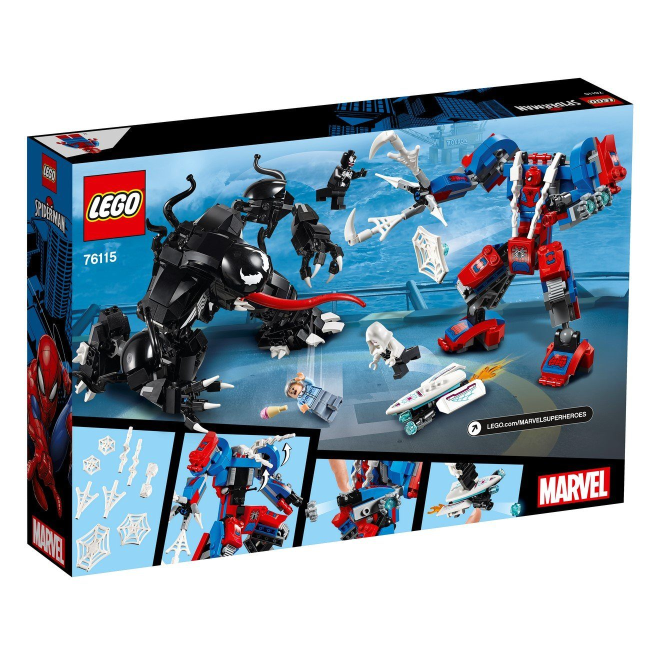 LEGO® Marvel Super Heroes - 76115 Spider Mech Vs. Venom