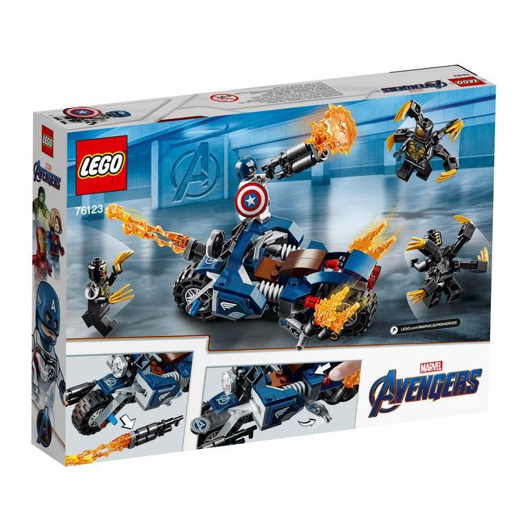 76123 Captain America: Outriders Attack - LEGO® Bricks World