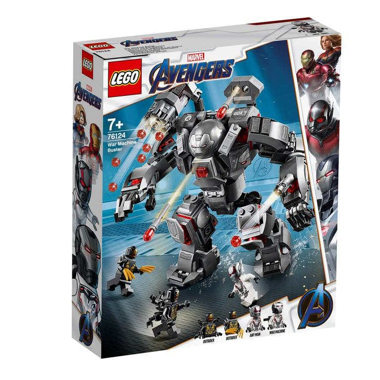 76124 War Machine Buster - LEGO® Bricks World