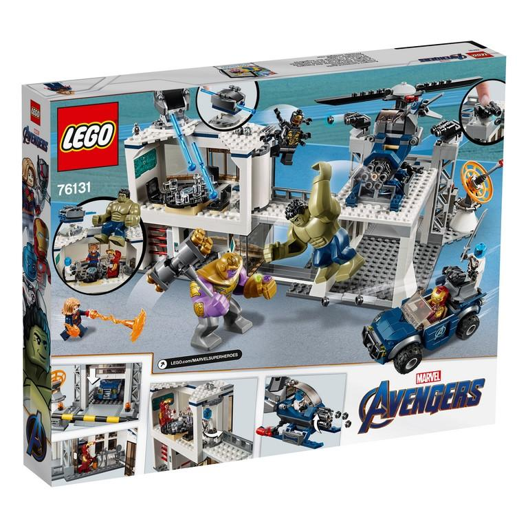 76131 Avengers Compound Battle - LEGO® Bricks World