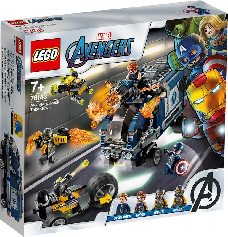 76143 Avengers Truck Take-down - LEGO® Bricks World