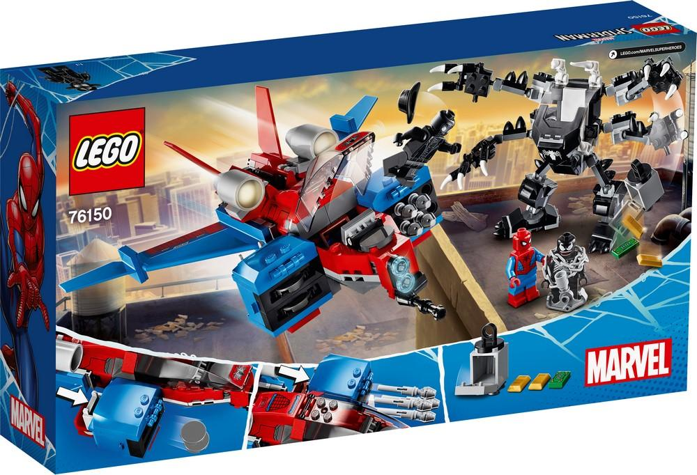 76150 Spiderjet vs. Venom Mech - LEGO® Bricks World