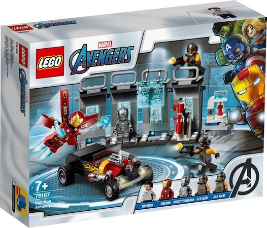 LEGO® Marvel Super Heroes - 76167 Iron Man Armory