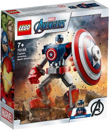 LEGO® Marvel Super Heroes - 76168 Captain America Mech Armour