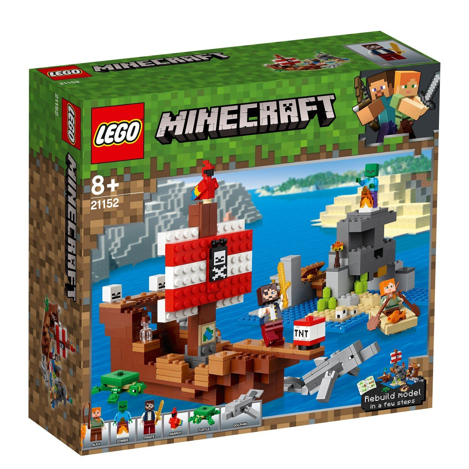 21152 The Pirate Ship Adventure - LEGO® Bricks World