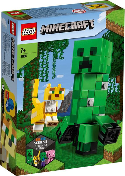 21156 BigFig Creeper™ and Ocelot - LEGO® Bricks World