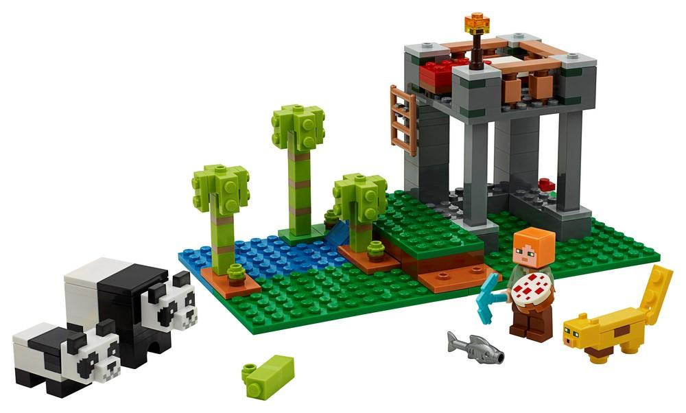 21158 The Panda Nursery - LEGO® Bricks World