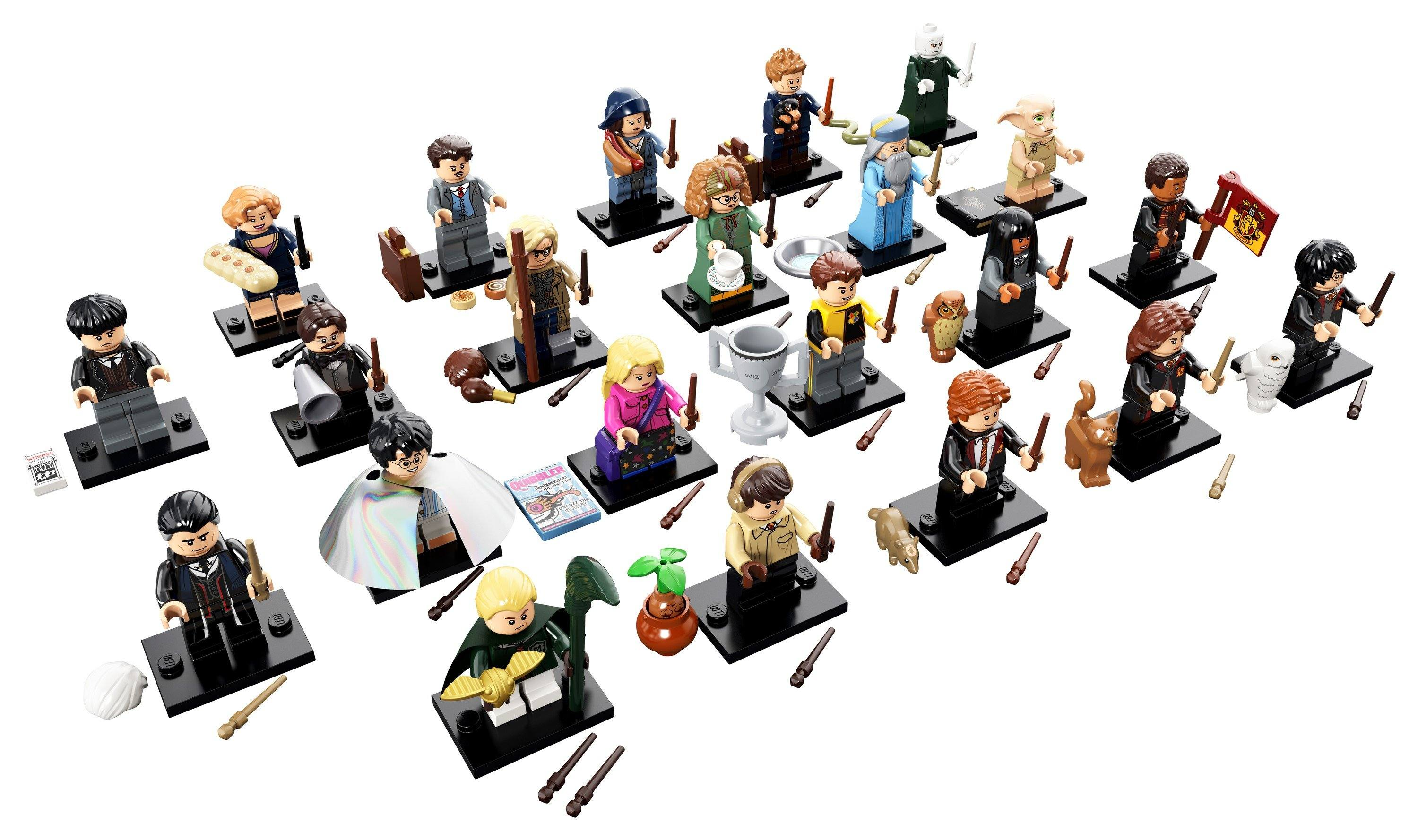 LEGO® Minifigures - 710229 Harry Potter™ And Fantastic Beasts™ (Box Of 60)