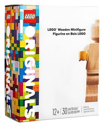 853967 LEGO® Wooden Minifigure - LEGO® Bricks World