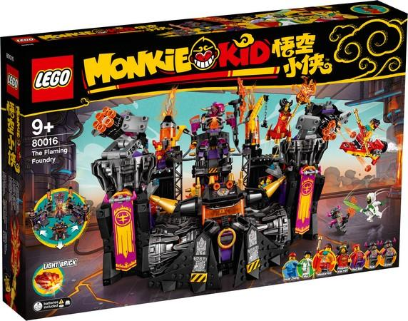 LEGO® Monkie Kid - 80016 The Flaming Foundry