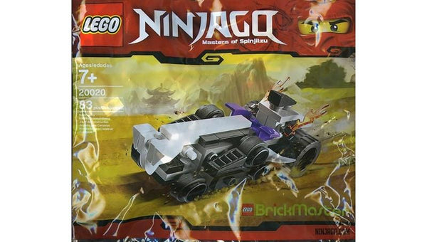 20020 Mini Turbo Shredder Polybag - LEGO® Bricks World