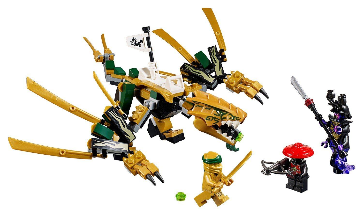 70666 The Golden Dragon - LEGO® Bricks World