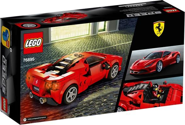 76895 Ferrari F8 Tributo - LEGO® Bricks World