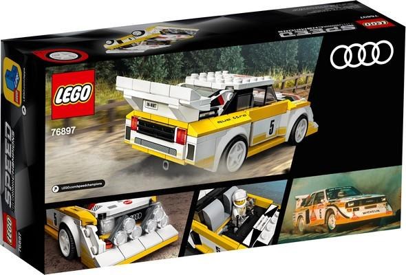 76897 1985 Audi Sport Quattro S1 - LEGO® Bricks World