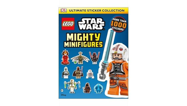1195840 Ultimate Sticker Collection: LEGO Star Wars Mighty Minifigures - LEGO® Bricks World