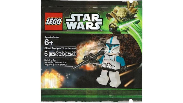 5001709 Clone Trooper Lieutenant Polybag - LEGO® Bricks World
