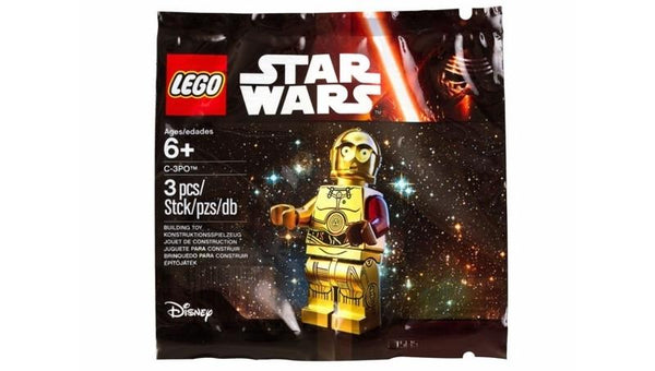 5002948 C-3PO Dark Red Arm Polybag - LEGO® Bricks World