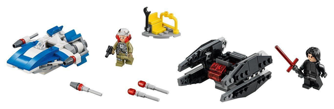 LEGO® Star Wars™ - 75196 A-Wing™ Vs. TIE Silencer™ Microfighters