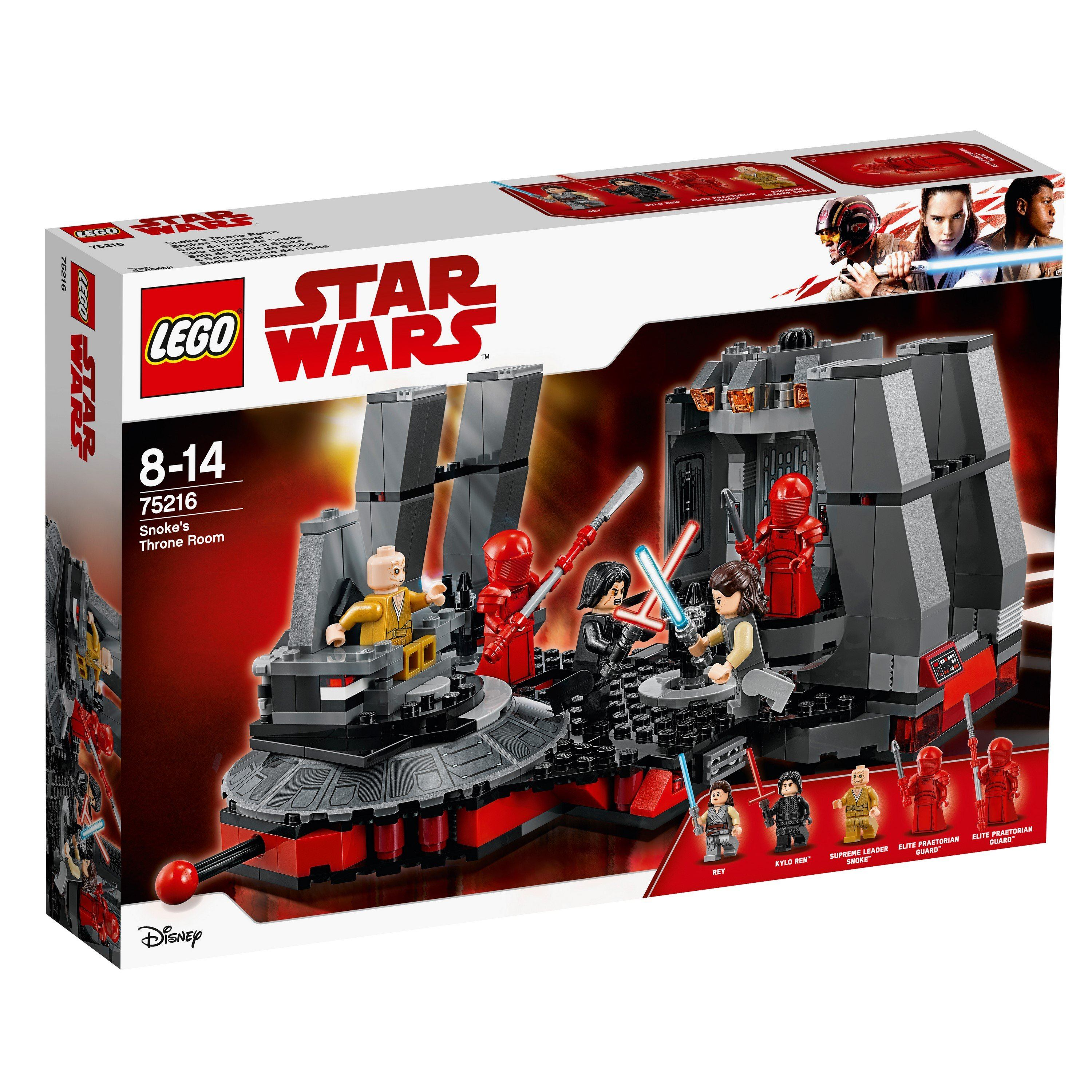 LEGO® Star Wars™ - 75216 Snoke's Throne Room