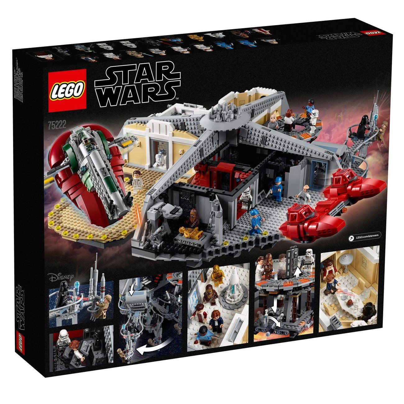 LEGO® Star Wars™ - 75222 Betrayal At Cloud City™