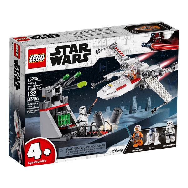 75235 X-Wing Starfighter™ Trench Run - LEGO® Bricks World