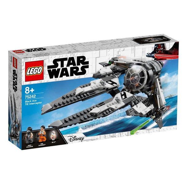 75242 Black Ace TIE Interceptor - LEGO® Bricks World