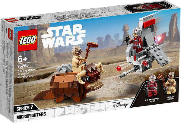 75265 T-16 Skyhopper™ vs Bantha™ Microfighters - LEGO® Bricks World