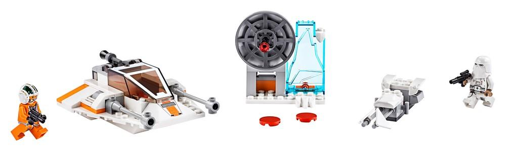 75268 Snowspeeder™ - LEGO® Bricks World