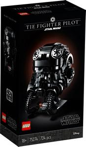 75274 TIE Fighter Pilot™ Helmet - LEGO® Bricks World
