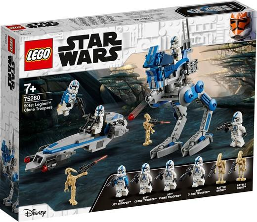 LEGO® Star Wars™ - 75280 501st Legion™ Clone Troopers