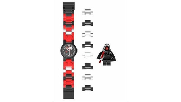 9001932 Watch- Darth Maul with Minifigure - LEGO® Bricks World