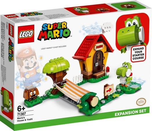 LEGO® Super Mario™ - 71367 Mario's House & Yoshi Expansion Set