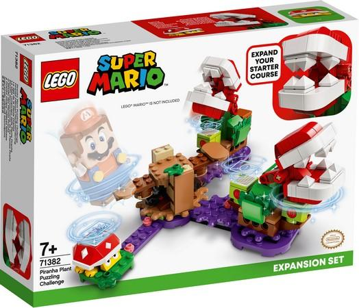LEGO® Super Mario™ - 71382 Piranha Plant Puzzling Challenge Expansion Set