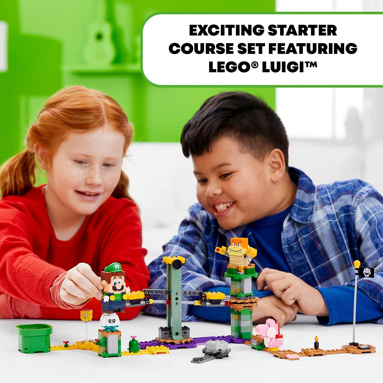 LEGO® Super Mario™ - 71387 Super Mario™ Adventures With Luigi Starter Course