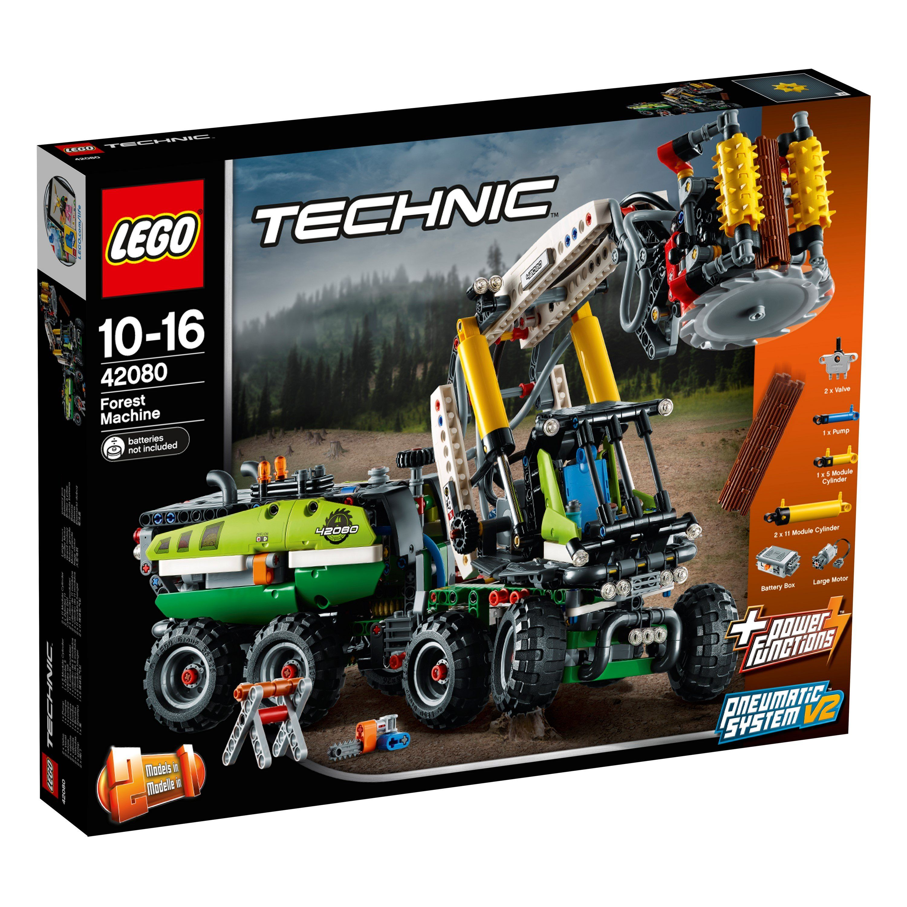LEGO® Technic - 42080 Forest Machine