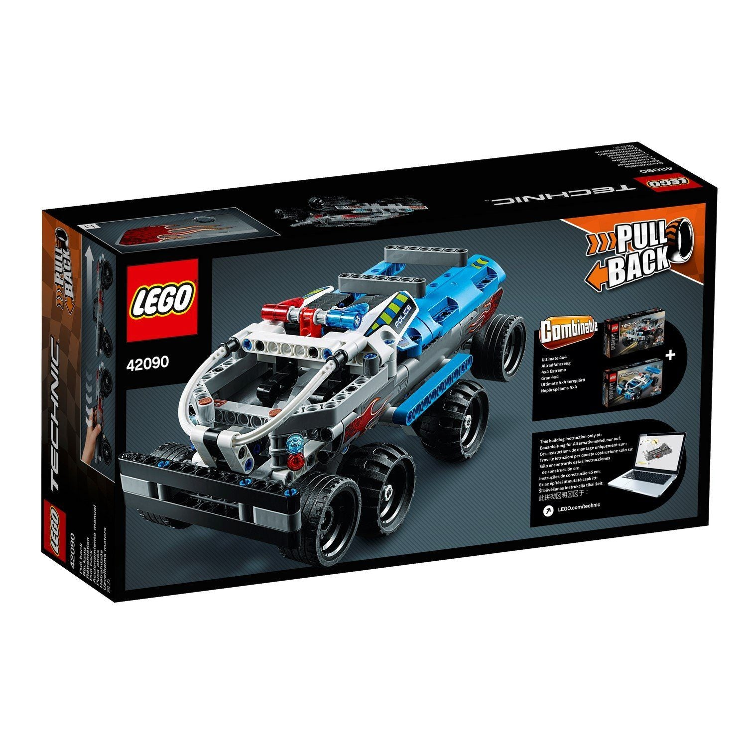 42090 Getaway Truck - LEGO® Bricks World