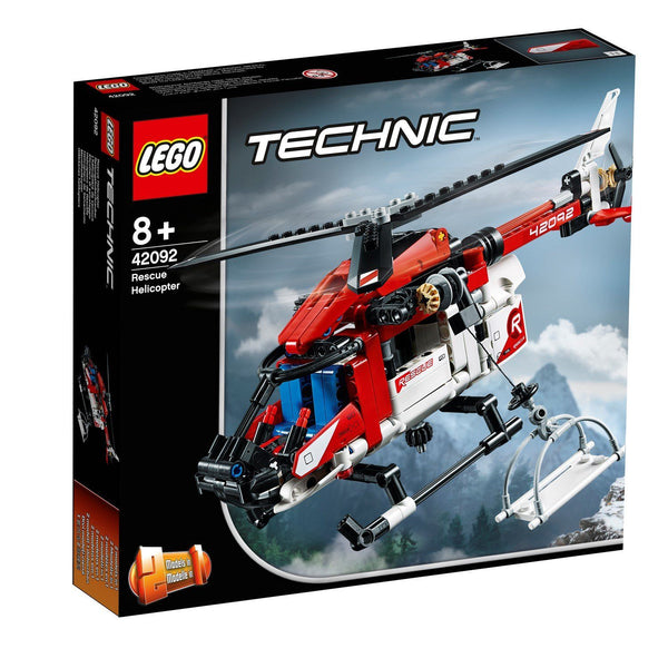 42092 Rescue Helicopter - LEGO® Bricks World