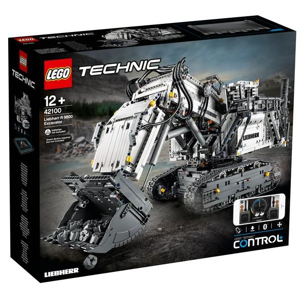 42100 Liebherr R 9800 Excavator - LEGO® Bricks World