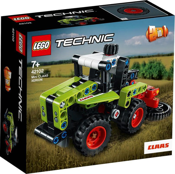 42102 Mini CLAAS XERION - LEGO® Bricks World