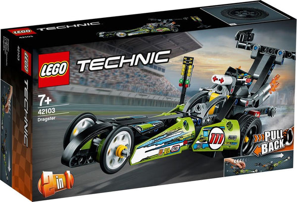 42103 Dragster - LEGO® Bricks World