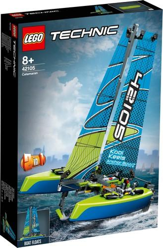 42105 Catamaran - LEGO® Bricks World