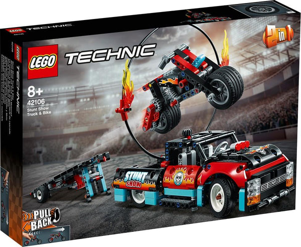42106 Stunt Show Truck & Bike - LEGO® Bricks World
