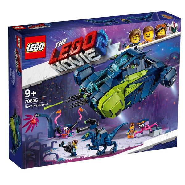 70835 Rex's Rexplorer! - LEGO® Bricks World